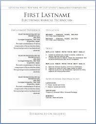 Simple Resume Maker Free Simple Resume Templates Simple Sample Resume Templates