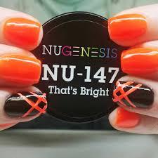 nugenesis nails dip powder that u0027s bright nu 147