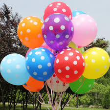 balloon delivery service polka dot helium balloons call us for more details 7624888889