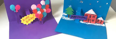 pop up birthday card how to make pop up christmas birthday cards persil