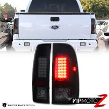 2016 f350 tail lights 2007 2016 ford f250 f350 f450 superduty sinister black led tail