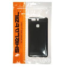 shtl carbon tpu armor for huawei p9 lite black