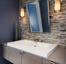 shocking designs with bathroom countertop storage cabinets under comely decorating ideas using rectangular white sinks and rectangular silver mirrors also with brown glass tile