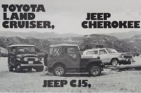 jeep toyota feature flashback 1975 suvs jeep vs toyota motor trend canada