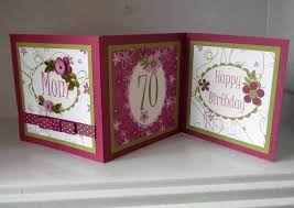 70th birthday card handmade quilled personalis folksy
