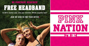 pink headbands s secret free pink nation headbands tomorrow no
