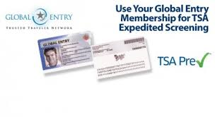 global entry card includes tsa precheck u2013 palo will travel