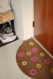 diy donut doormat what emily said
