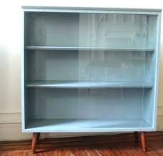 target glass door cabinet blue bookshelf bookcases navy bookcase vintage slate cabinet with