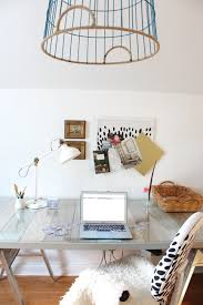 Diy Sawhorse Desk by Diy Pallet Desk And Office Reveal