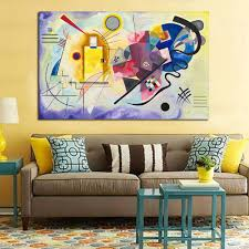 online get cheap red blue yellow painting aliexpress com