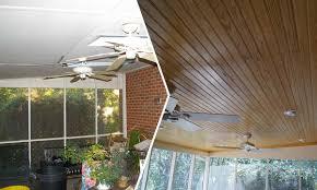 screened porch ceiling repairs charlotte home repairs