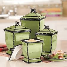 green canisters kitchen 34 best canister sets images on canister sets