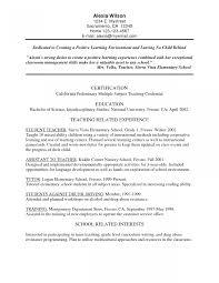 sle resume template bilingual resume exles elementary resume sle