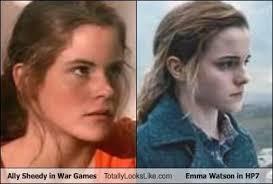 emma watson looks like emma watson looks like ally sheedy in the 80s album on imgur