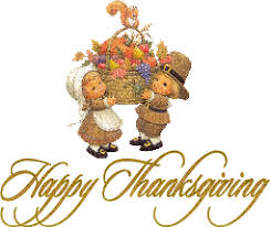 happy thanksgiving pilgrim children animated gif 9020 animate it