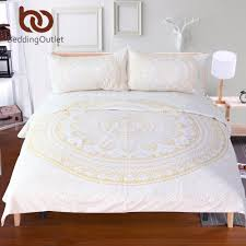 bedding outlet stores beddingoutlet gold mandala duvet cover set bohemia bedding floral