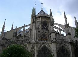 25 beautiful notre dame de paris flying buttresses pictures and images