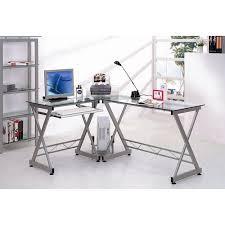 techni mobili black glass corner desk huge selection of modern corner desk with hutch