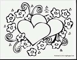 extraordinary day valentine heart coloring pages with valentine