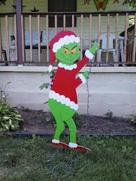 grinch outdoor decoration decorations