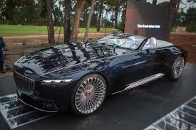 maybach 6 interior 2017 pebble beach concours vision mercedes maybach 6 cabriolet