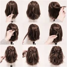 15 hair tutorials for bobs bobs rounding and style medium hair