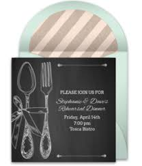 rehearsal lunch invitations free rehearsal dinner online invitations punchbowl