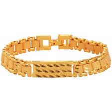 bracelet for rudraksha gold plated chain bracelet for men