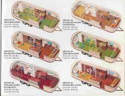 Camper Trailer Floor Plans Airstream Floor Plans 31 Foot Sovereign Of The Road Center Bath