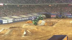 monster truck show atlanta grave digger atlanta freestyle 2017 show 1 youtube
