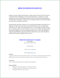 How To Type Resume For A Job by 7 How To Write A Resume For A Job As A Student
