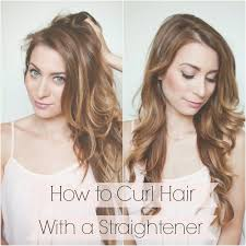 how to curl your hair fast with a wand my everyday hair how to curl hair with a straightener in 5