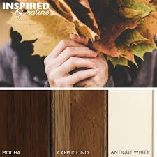 fall color palettes inspired by nature kitchen cabinetry colors
