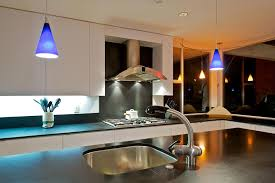 Led Kitchen Lighting by Lighting Minimalist Kitchen In White Tone With Led Kitchen