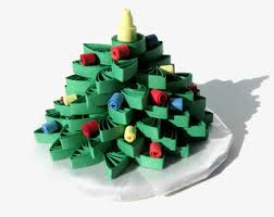 Mini Christmas Tree Cake Decorations by Christmas Tree Ornaments Quilling Christmas Ornament