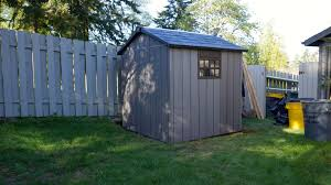 keter oakland shed assembly time lapse built right youtube