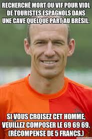 Robben Meme - ce salaud