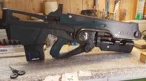 hard light destiny 2 a 3d print of destiny 2 s hard light rifle complete with working