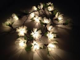 bedroom lighting 20 white tone ylang ylang flower fairy string