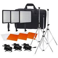 low budget lighting kit cheap led video lights led lighting kits documentary film cameras