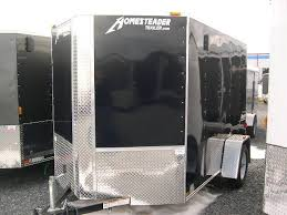 V Nose Enclosed Trailer Cabinets by Homesteader 6 X 10 V Nose Enclosed Cargo Trailer Ramp Door