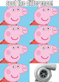 Peppa Pig Meme - ayy it s peppa pig spot the difference 9
