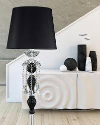 shades black floor lamps contemporary looks elegant black floor