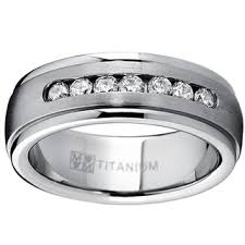 titanium wedding ring titanium men s wedding bands groom wedding rings shop the best