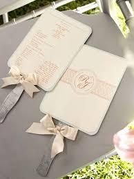 diy wedding program fans 75 best ceremony program ideas images on invitations