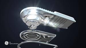 ge evolve led roadway lighting ge evolve led medium cobrahead luminaire youtube
