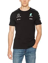 mercedes amg petronas t shirt official 2017 mercedes amg f1 sleeve t shirt black amazon