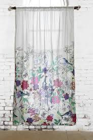 Urban Outfitters Waterfall Ruffle Curtain by Plum U0026 Bow Forest Critter Curtain Urbanoutfitters Uohome
