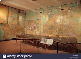 the war room in the musee de la reddition museum of the surrender